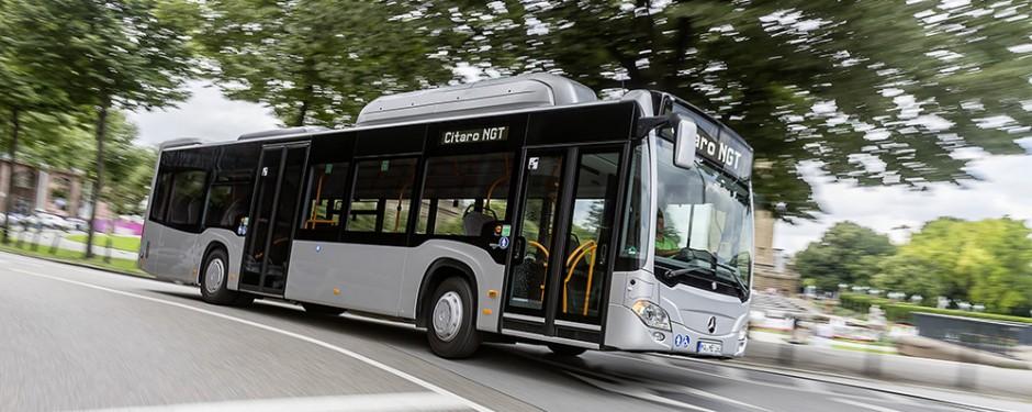 Erdgas Bus
