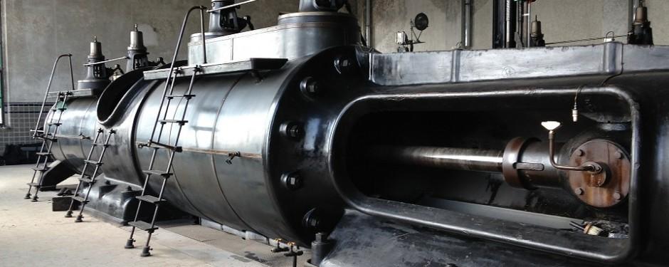 Die Dampfmaschine war eine der wichtigsten Erfindungen der ersten industriellen Revolution.