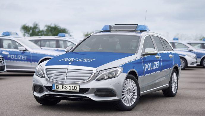 Mercedes-Benz C-Klasse T-Modell als Polizeifahrzeug ;  ;