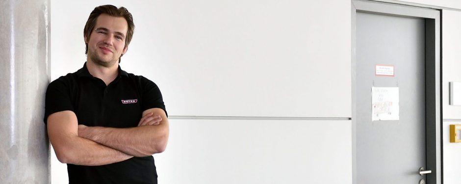 Jobporträt Bernd Gutmann Genius die junge Wissenscommunity von Daimler, MINT-Bildungsinitiative