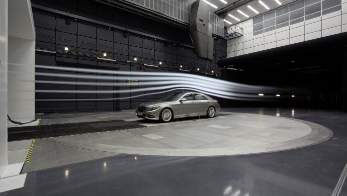 Windkanal Daimler