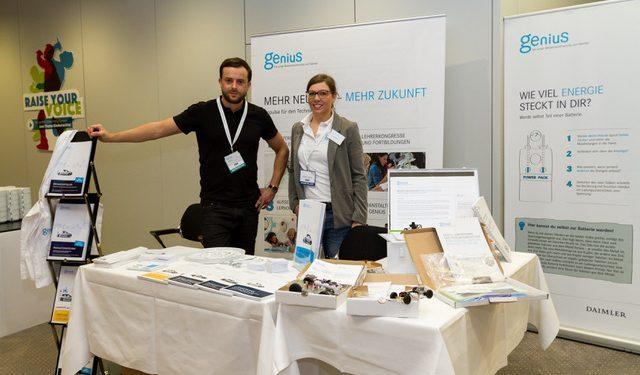 Schulleiterkongress DSLK in Düsseldorf, Genius die junge Wissenscommunty von Daimler, MINT Bildungsinitiative
