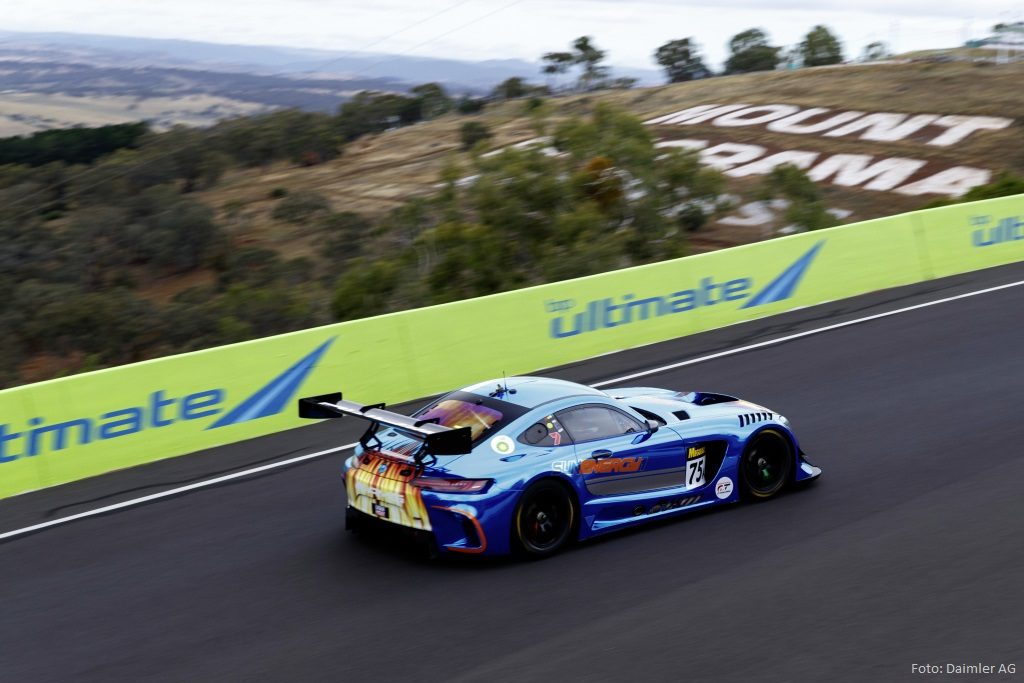 Mercedes-AMG GT3 #75, Mercedes-AMG Team SunEnergy1 beim 12-Stunden-Rennen von Bathurst 2018<br /> #75 Mercedes-AMG GT3, Mercedes-AMG Team SunEnergy1 at the 2018 Bathurst 12 Hour