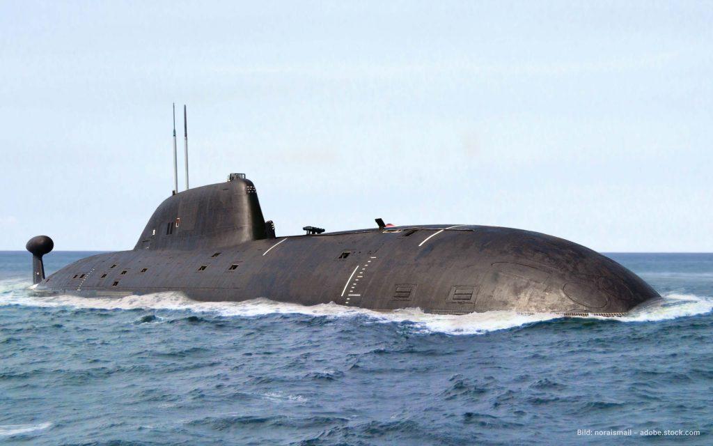 Schwimmendes U-Boot