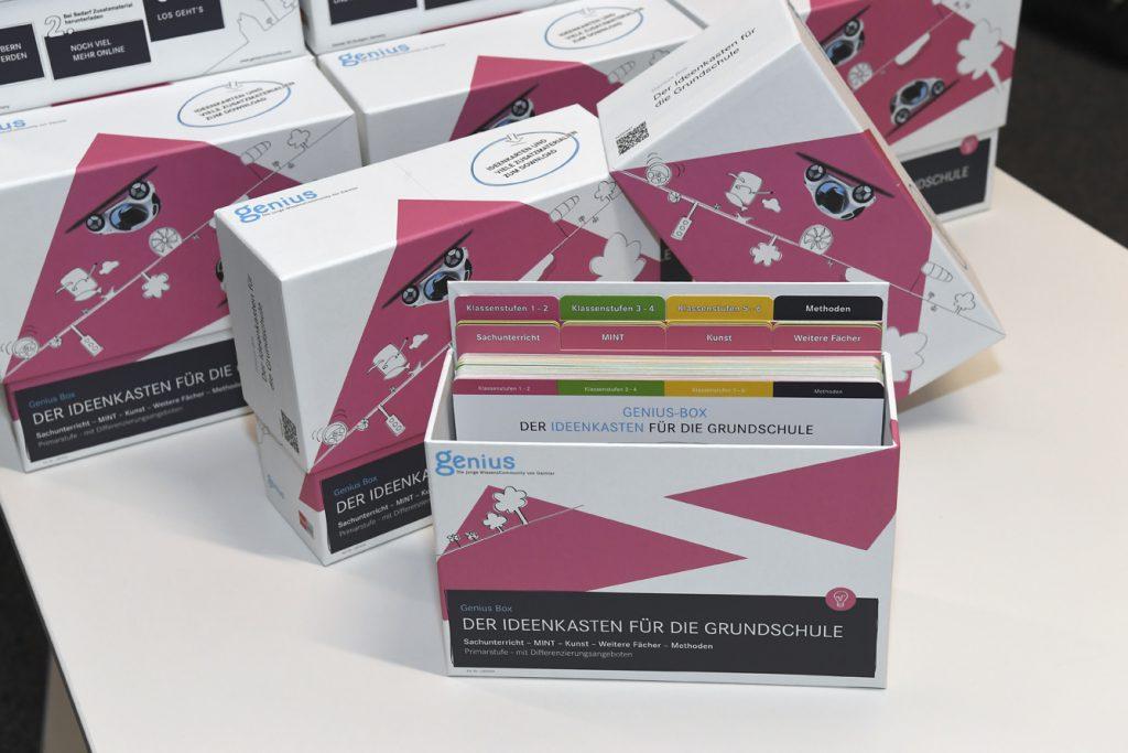 Die GENIUS-BOX – der Ideenkasten für die Grundschule