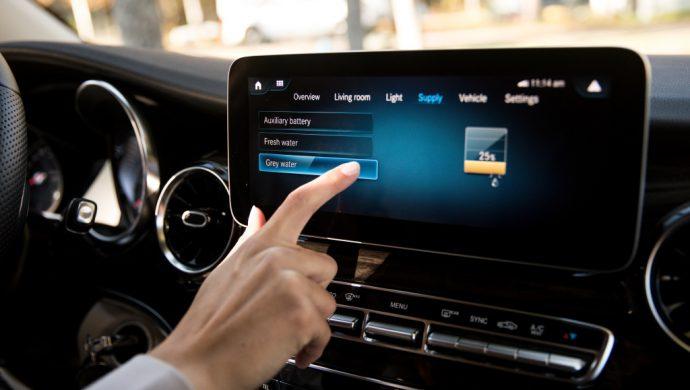 MBUX ist das Infotainment-System von Daimler mit künstlicher Intelligenz