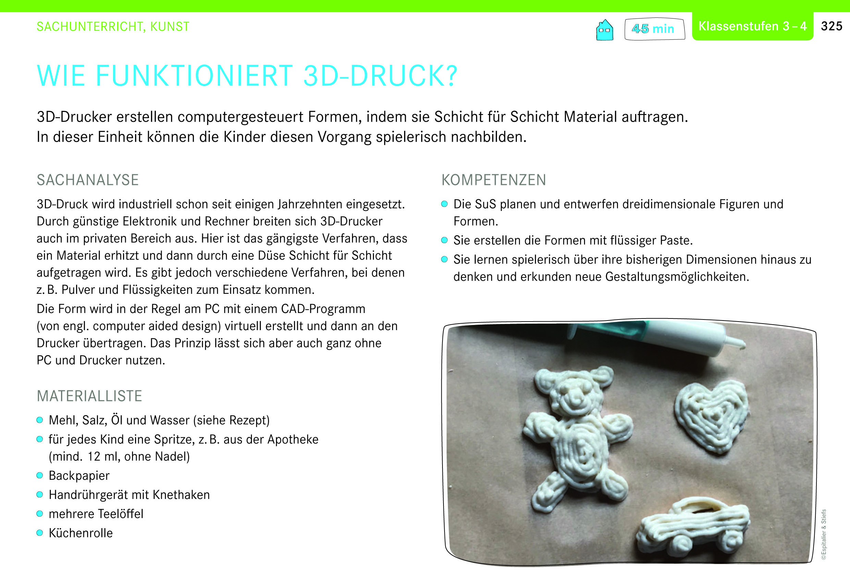 Genius Box: Wie funktioniert 3D-Druck? Sachunterricht, Kunst, Klassenstufen 3-4