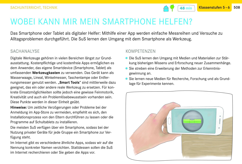 Genius Box: Wobei kann mir mein Smartphone helfen? Sachunterricht, Technik, Klassenstufen 5-6